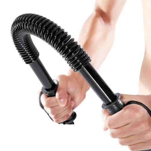 44LB 20kg Power Twister Bar Spring Hand Gripper Arm Chest  Strength Training