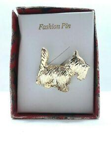 Vintage scottie scottish pin  brooch