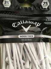 Calloway Golf Tees - 75 Wood Tees 3 1/4 size