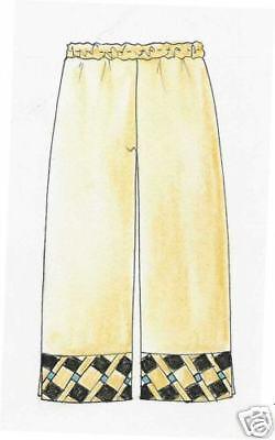 Designer Coupe motifs seminole pantalon taille L patchwork