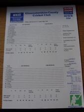11/05/1996 Cricket Scorecard: Gloucestershire v India  -  3 Days