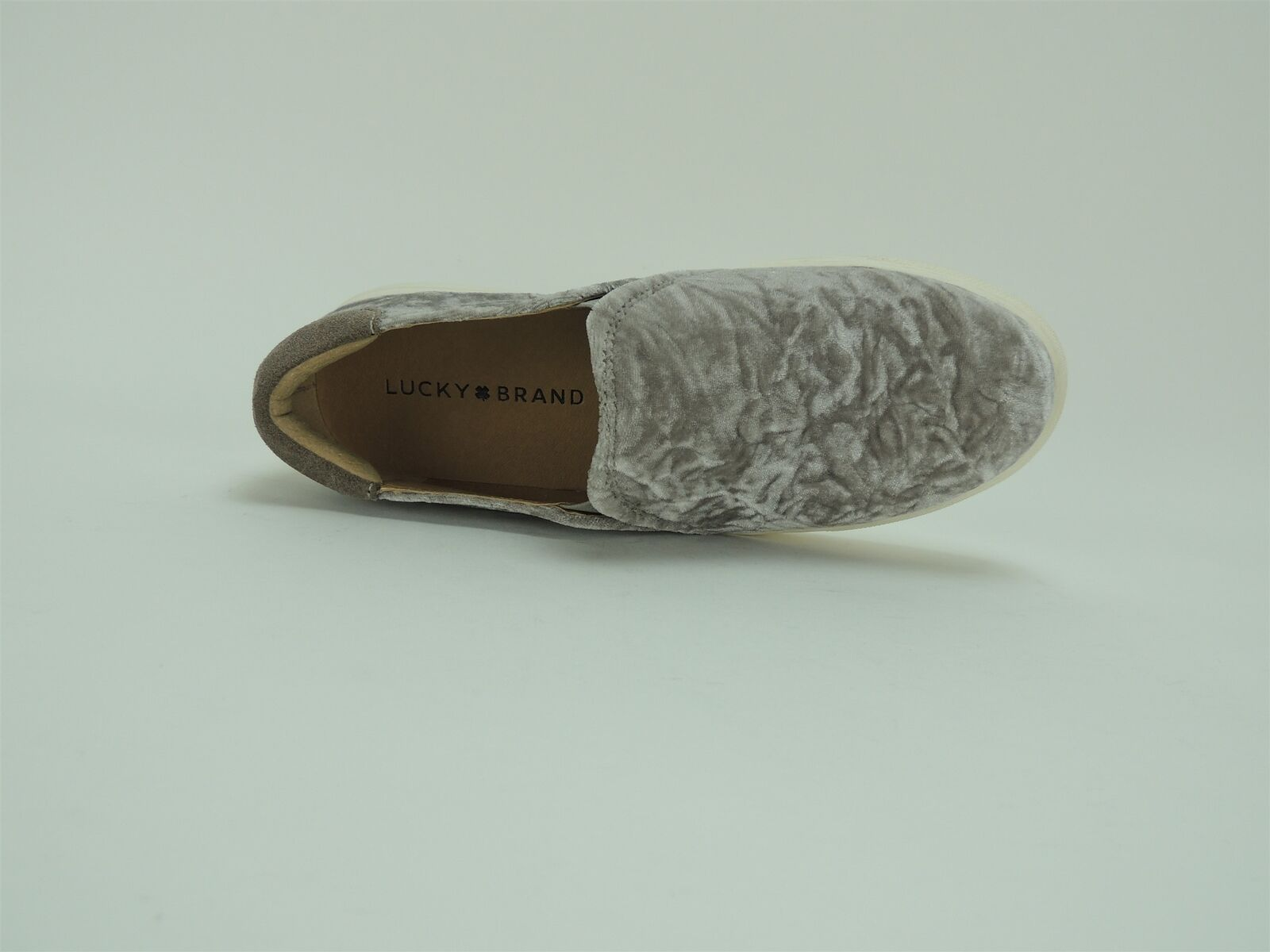 Lucky Brand Women's Lupa Flats Mist Abstract Crushed Crushed Crushed Velvet Size 6 M b39c77