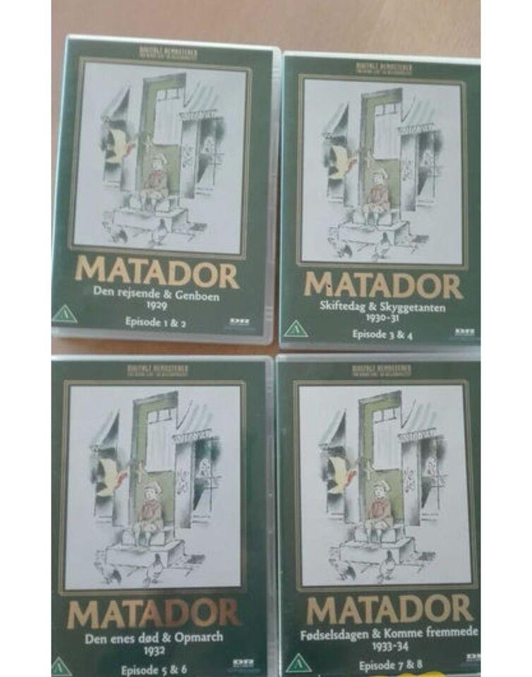 Ultramoderne Matador, DVD, TV-serier – dba.dk – Køb og Salg af Nyt og Brugt RD-71
