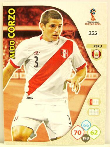 Panini Adrenalyn XL Coupe du monde 2018 #255 Aldo Corzo-Pérou
