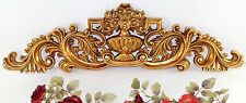 Barock Türbogen gold Wandapplike Relief Ornament Wandtattoo Antik Wandrelief Neu