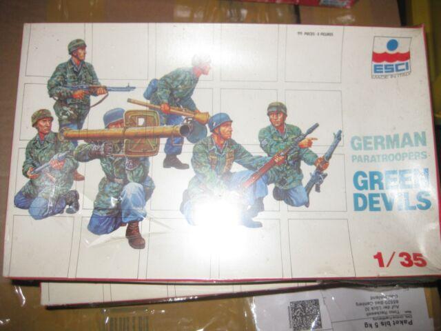 Esci  German Paratroopers 'Green Devils' Figuren 1:35