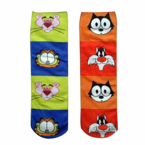 Hot Ankle Socks Women 3D Print Cartoon Character Colorful Cotton Socks Funny