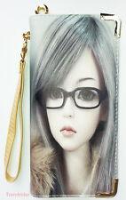 Canvas Print Anime Girls Barbie Doll Dollfie Full Size Zip Around Wallet Wrislet