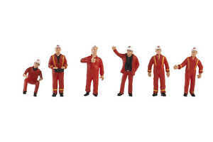 Conrad 410223 Mammoet Figure Workers IV - Scale 1:50