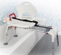 Handicap Shower Accessories Bath Sliding Seat Tub Transfer Bench Medical Rn Care