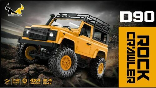 1:12 2.4G Remote Control Off Road Truck Toy RC Rock Crawler Buggy PICKCAR D90