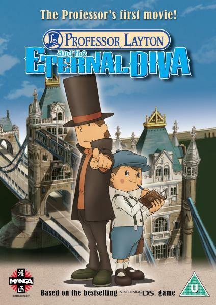 Professor Layton And The Eternal Diva Dvd 2010 For Sale Online