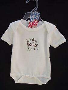 BNWT-Baby-Boys-or-Girls-Sz-0-Super-Soft-100-Organic-Cotton-Short-Romper-Suit