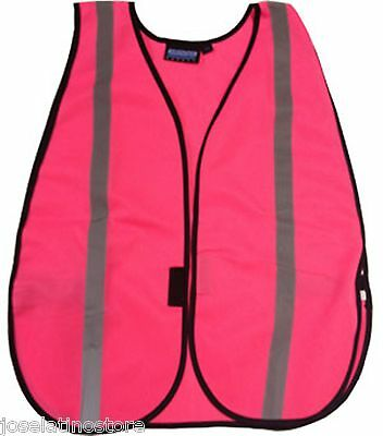 """Ladies """"NIGHT"""" Reflective Stripe Safety Vest 4 Colors NEW! Fast Shipping!!"""