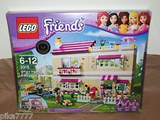 LEGO Friends Olivia's House 3315 Mia Peter Anna cat carrot best toy award