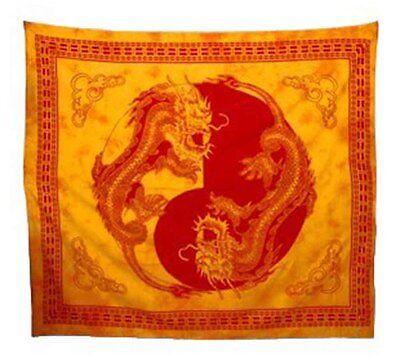 Batik Dekotücher XXL 210x240 cm - indische Tagesdecken-Bettüberwürfe-Wandbehänge