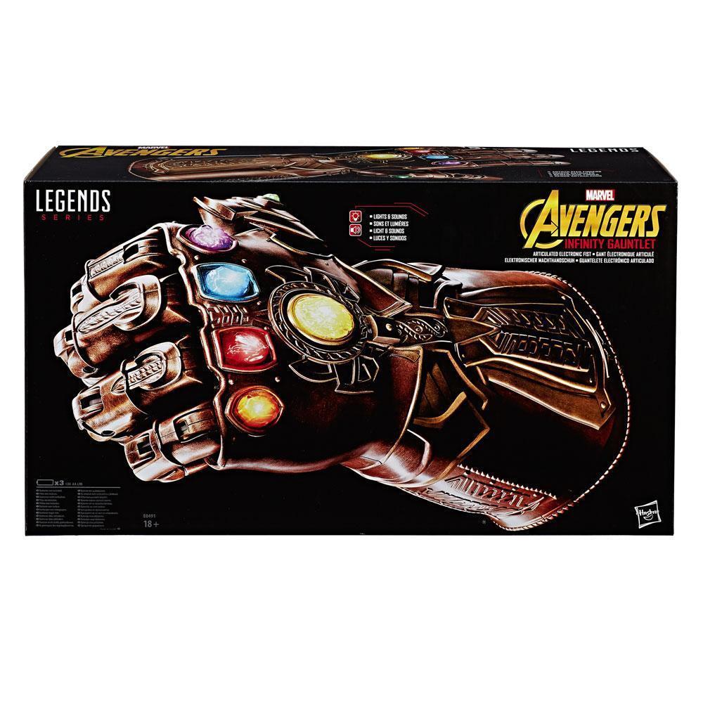 Thanos The Avengers Infinity War Gauntlet Marvel Legends 1 1 Replika Hasbro