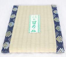 "Bonsai display Japanese /""Tatami mat/"" Tatami Omote Coasters 12cm x 12cm  7pieces"