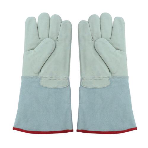 Premium 36cm Cryogenic Gloves Nitrogen Cold Freeze Work Protective Comfy