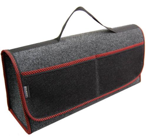 Kofferraumtasche Auto Tasche Zubehörtasche in ROT passend für Honda