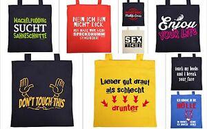 sprüche taschen Sprüche Tasche   lustige Motiv Baumwolltasche   coole Sprüche  sprüche taschen