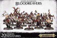 Khorne Bloodbound Bloodreavers Games Workshop Warhammer Age of Sigmar