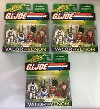 GI Joe COBRA B.A.T II V3.2 /& V4 Valor vs Venom figure VvV bat troop builder MOC