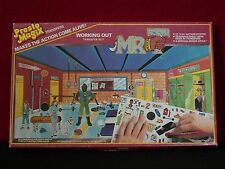 "Mr. T ""Working Out"" Vintage A-Team 1983 Presto Magix Unused 12""x24"" Set"