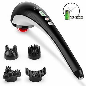 【Snailax Official Shop】Snailax Cordless Handheld Back Massager - Rechargeable