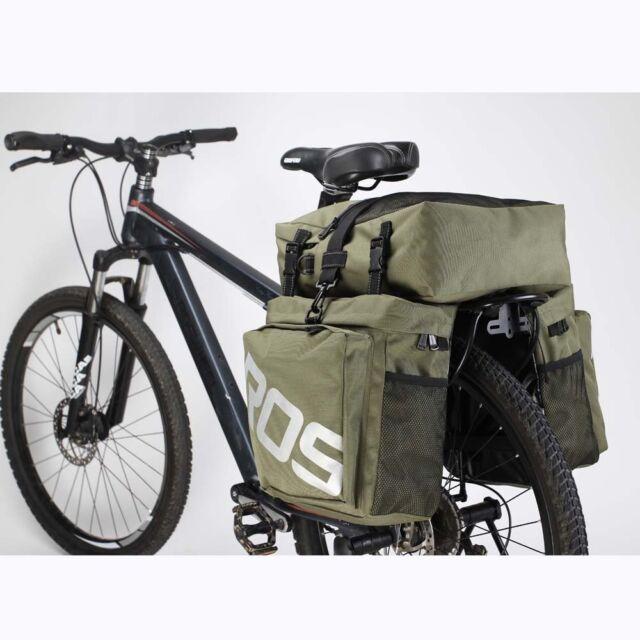 fb3b64d4538 Roswheel 3 in 1 Triple 35l Pannier Rear Bag Waterproof Cycle Road ...
