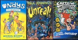 Children-039-s-books-mixed-Paul-Jennings-Unreal-The-Undys-Captain-Underpants
