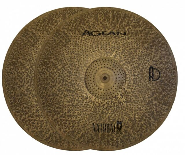 Agean Cymbals Silent R Series 12-inch Low Volume R Splash Cymbal