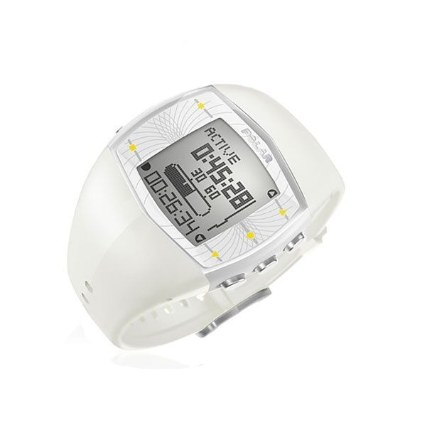 Detector of activities' POLAR Mod. FA20 White HEART RATE MONITOR White