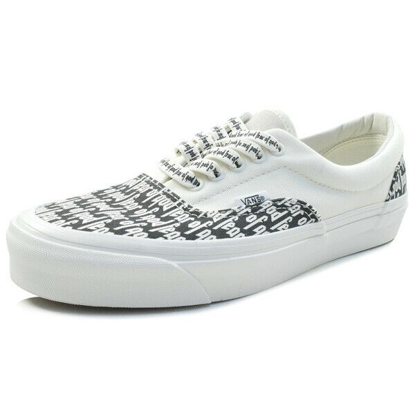 Fear of God x VANS Era 95 DX Sneakers WHITE US 10.5