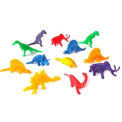 36 Small Plastic Dinosaur - Childrens Party Bag & Pinata Fillers Toys Favour