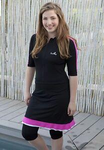 15c4d710d2 Image is loading Womens-Modest-Swimsuit-Swimwear-2-Pieces-UV-Sun-