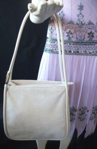 Vintage Gucci Beige Suede & Leather Handbag Satche