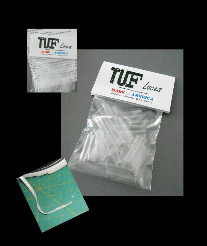 24 tips Shoelace Repair Aglets Strong Clear PVC Tips Repair Replace Lace Ends