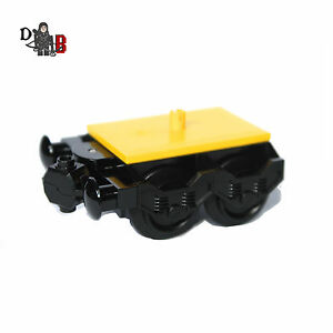 Custom-Lego-City-Train-bogey-small-with-buffer-amp-wheels-for-carriage-60051-60052