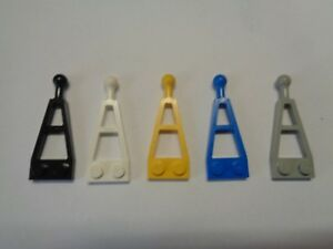 Lego 4 x Long towball plate Part 2508 Choose your colour.