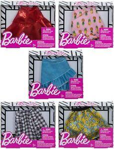 Barbie Doll Fashion Clothing Mini Skirts 5 Pack Bundle Girl Clothes Gift Ebay