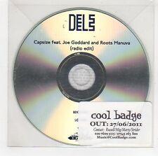 (GG866) Dels, Capsize ft Joe Goddard & Roots Manuva - 2011 DJ CD