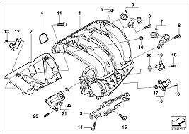 Intake Manifold Gasket Set Genuine BMW E81 E82 E90 E92 E93 E60 X1 X3 11617530703