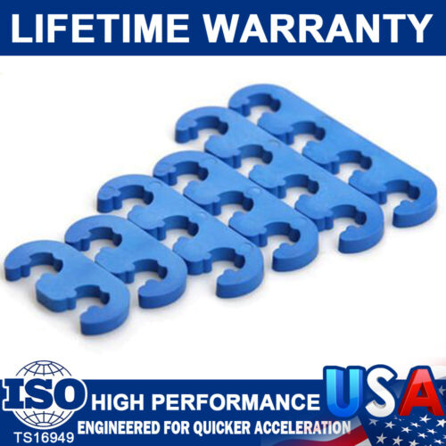 Brand New 7mm 8mm Spark Plug Wires Separators Dividers Looms Fit For Ford Chevy