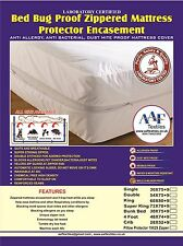 Lab Certified Bedbug proof mattress  protector  Anti Allergy