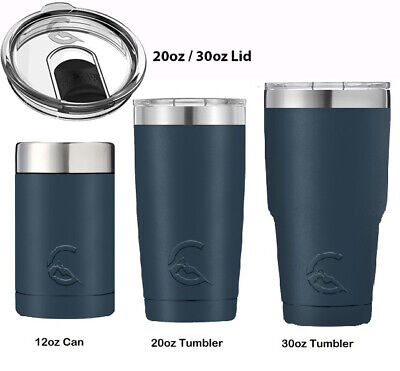 CASCADE TUMBLER 12OZ WINE INSULATED STAINLESS STEEL SILICONE BOTTOM TRITON LID