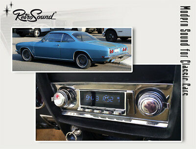 Für Chevrolet Corvair 1965-69 Oldtimer Auto Radio Dab+ Fm Usb Bluetooth Aux