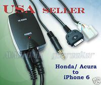 Iphone6 Iphone5 Ipod Smartphone To Honda 2003-2011 Accord Elementaudio Cable Set