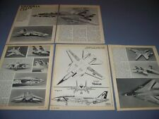 VINTAGE..GRUMMAN F-14A TOMCAT..4-VIEWS/ 1/72 SCALE MODEL REVIEW...RARE! (946C)