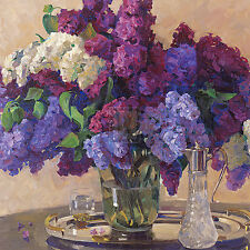 Lilac Cluster ists Art Poster Print by Valeriy Chuikov, 12x12